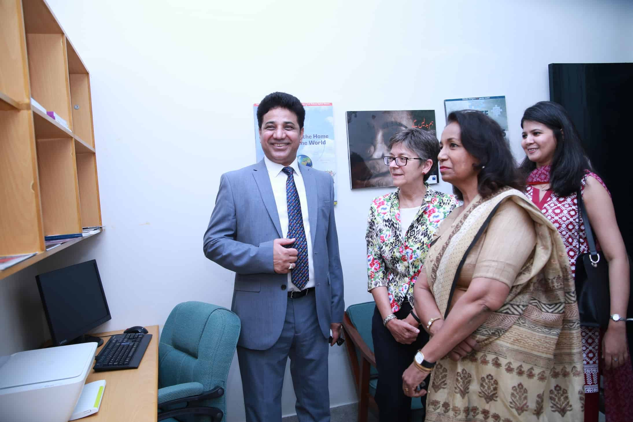 Fostering Young Minority Women at Leadership Positions in Punjab